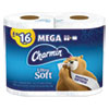 Ultra Soft Toilet Paper, Septic Safe, 2-Ply, White, 264 Sheets/Roll, 4 Rolls/PK