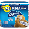 Ultra Soft Toilet Paper, 2-Ply, White, 284 Sheets/Roll, 18 Rolls/PK