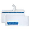 Tinted Window Envelope, Contemporary, #10, White, 500/Box