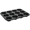 12 Cup Muffin Pan, Non-stick, 3oz, Tin-plated