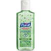 Advanced Hand Sanitizer Soothing Gel, Fresh Scent, 4 fl oz Portable Flip Cap Bottle, 24/CT