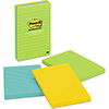 Original Pads in Jaipur Colors, Lined, 4 x 6, 100-Sheet, 3/Pack