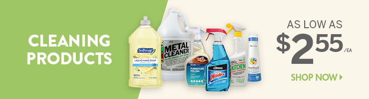 Shop Cleaning Products