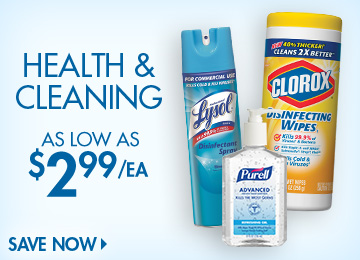 Save on Health & Cleaning