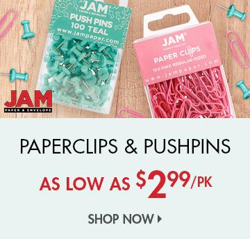 Shop Paperclips & Pushpins