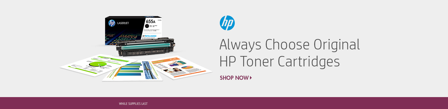 Save on HP Toner