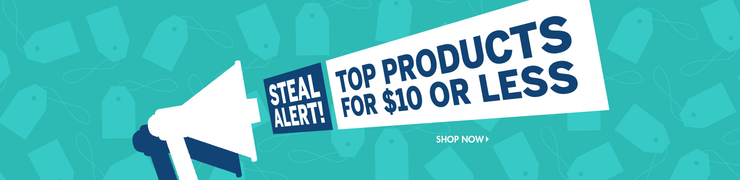 Save on Products Under Ten Dollars