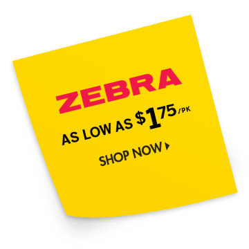 Shop Zebra Brand Products