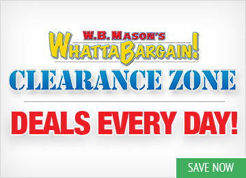 Save in the WhattaBargain! Clearance Zone