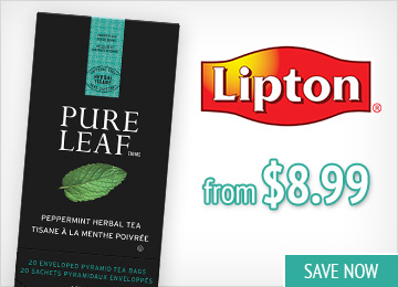 Save on Lipton Teas