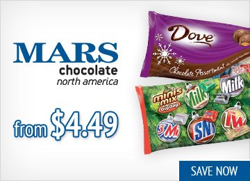 Save on Mars Candy
