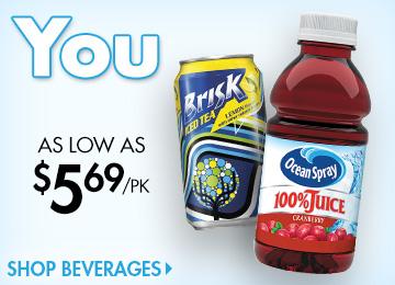 Save on Cold Beverages
