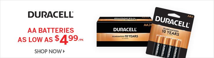 Shop Duracell Batteries