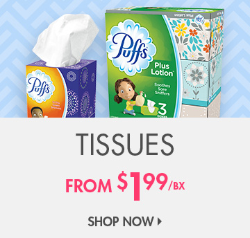 Save on Tissues