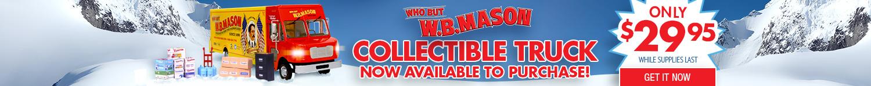 Buy W.B. Mason Collectible Truck