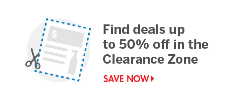 Shop the Clearance Zone