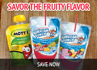 Savor the Fruity Flavor Snacks and Drinks