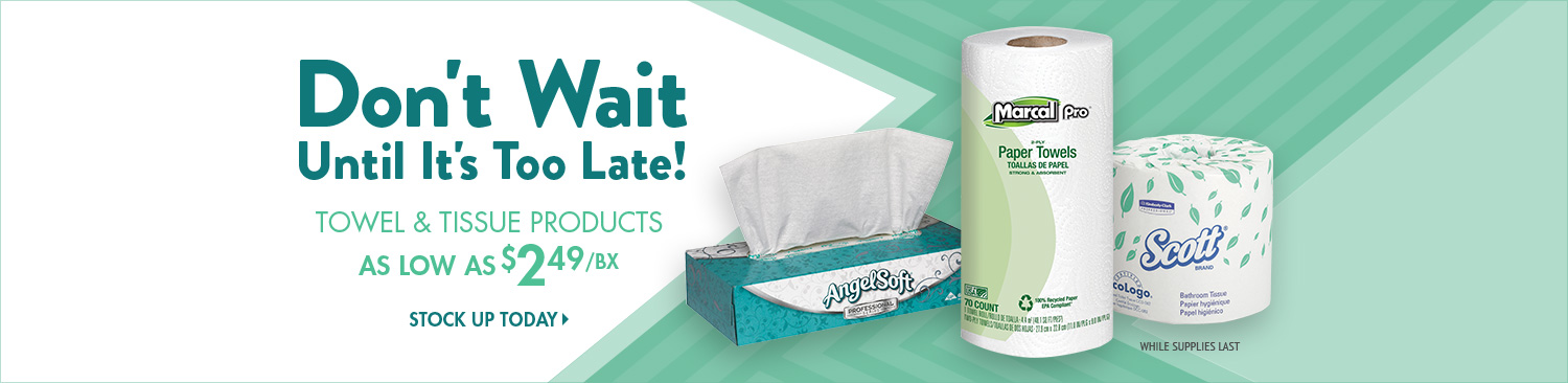 Save on Towel & Tissue