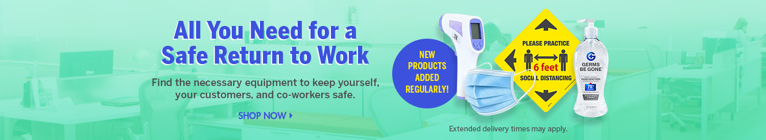 Shop Personal Protection and Hygiene Products