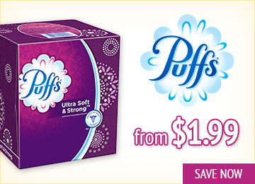 Save on Puffs