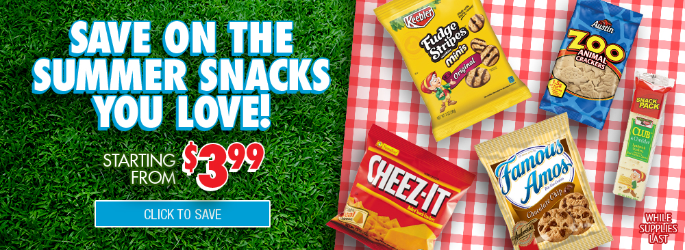 Save on Summer Snacks from Kelloggs