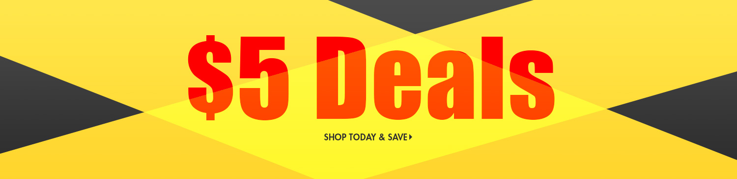 Save on Five Dollar Deals