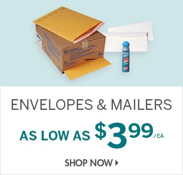 Shop Envelopes & Mailers