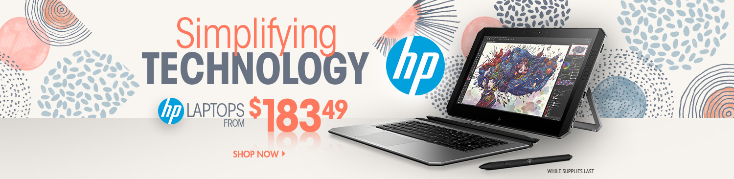 Save on HP Laptops
