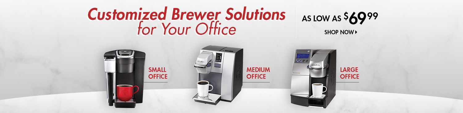 Save on Keurig Brewers