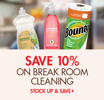 Save 10 Percent on Cleaning