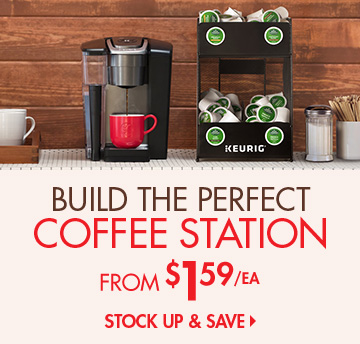 Build Your Coffee Station