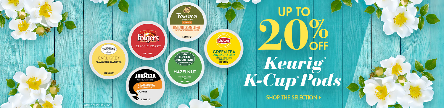 Save on K-Cup