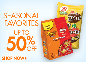 Save on Halloween Candy