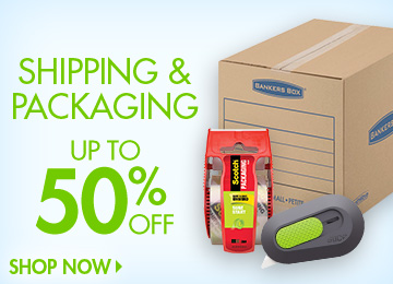 Save on Shipping & Packaging
