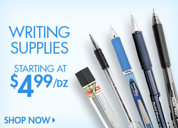Save on Writing Supplies