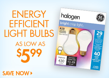 Save on Light Bulbs