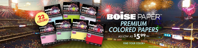 Shop Boise Fireworks Paper