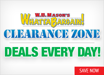 Save in our WhattaBargain! Clearance Zone