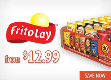 Save on Frito Lay Snacks