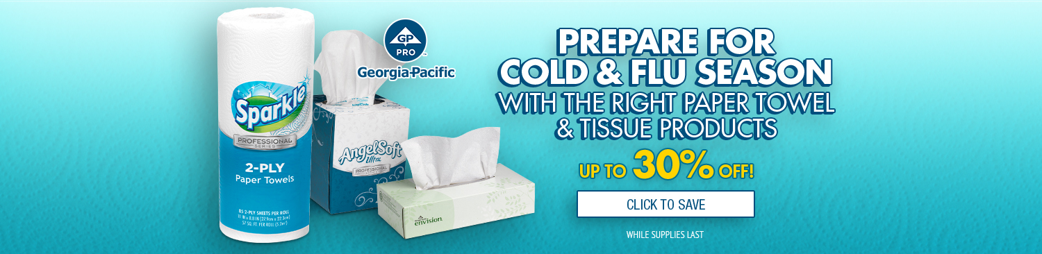 Save on Georgia-Pacific Paper Towels & Tissues