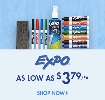 Save on Expo Products
