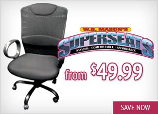 Save on W.B. Mason Superseats