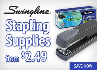 Save on Swingline Stapling Supplies