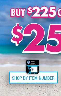 Shop HP Ink/Toner by Item Number
