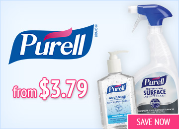 Save on Purell Cleaning Products