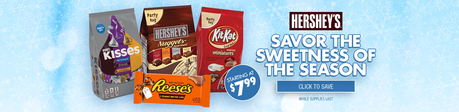 Save on Hershey Candy
