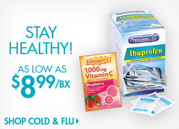 Save on Cold & Flu Supplies