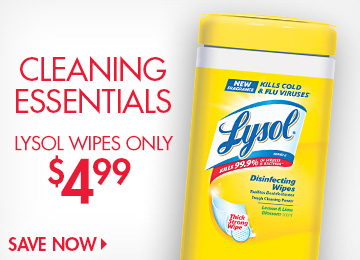 Save on Wipes