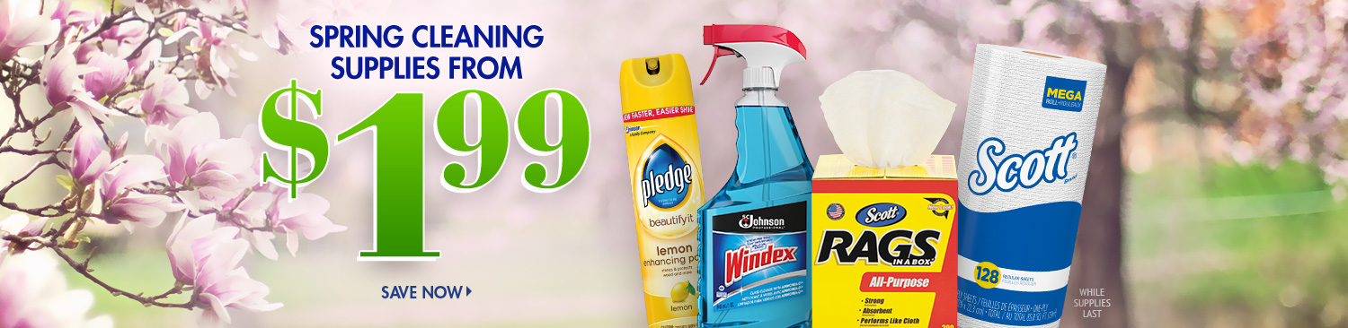 Save on Spring Cleaning
