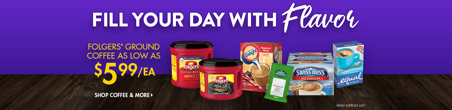 Save on Coffee and More